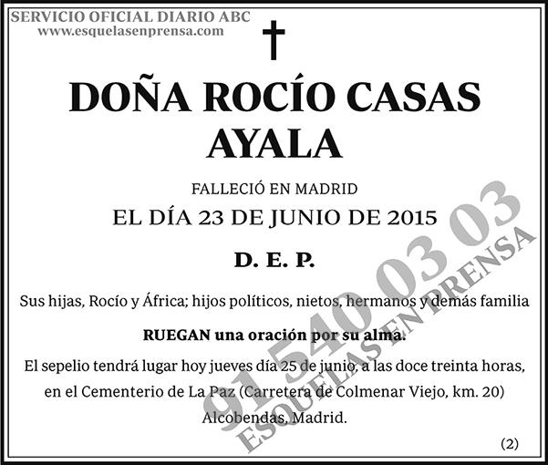 Rocío Casas Ayala